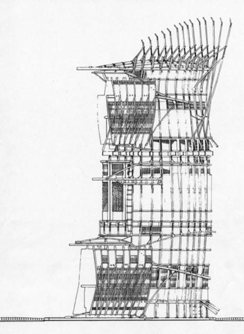 Fantastic journal a brief paen to peter salter iceberg for Paper for architectural drawings