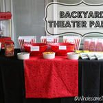Real Party: Backyard Theater