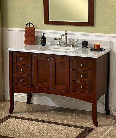 Shaker Style Vanities And Bath Vanities On Pinterest