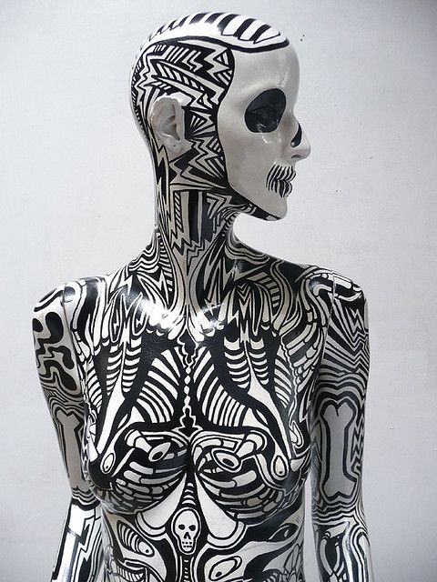 zombie mannequin front by andy council, via Flickr