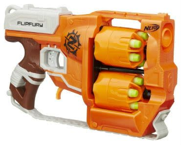 Enter to Win a Nerf Zombie Strike FlipFury Blaster - Ends November 11th at Midnight