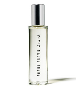 "Bobbie Brown ""Beach"" eau de parfum, this is the true essence of summer.  I spray this everywhere including my pillow cases and it takes me to the ocean every time!"
