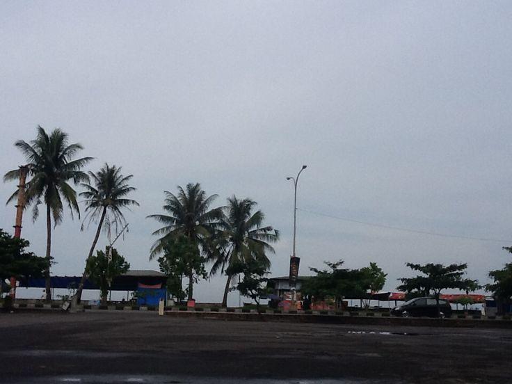 A view from Taman Budaya Padang this morning