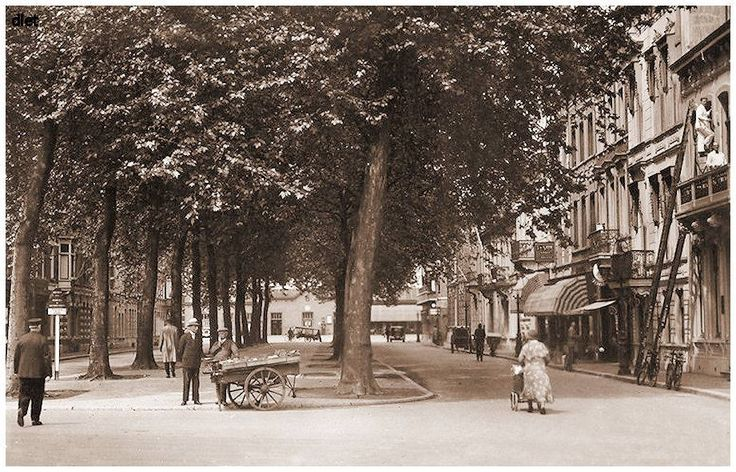 Breda, Station vanuit de Willemstraat