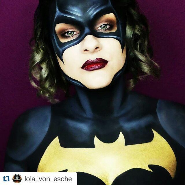 Batgirl Mask Makeup The 25 Best Batgirl Face Paint Ideas On