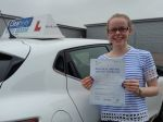 Emma from Chalfont St Peter in Buckinghamshire passed her driving test in September 2016 with the help of Clearway Driver Training