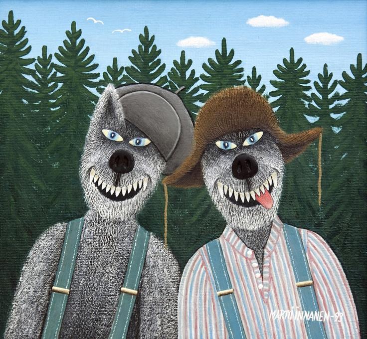Martti Innanen: Multia happy werewolves