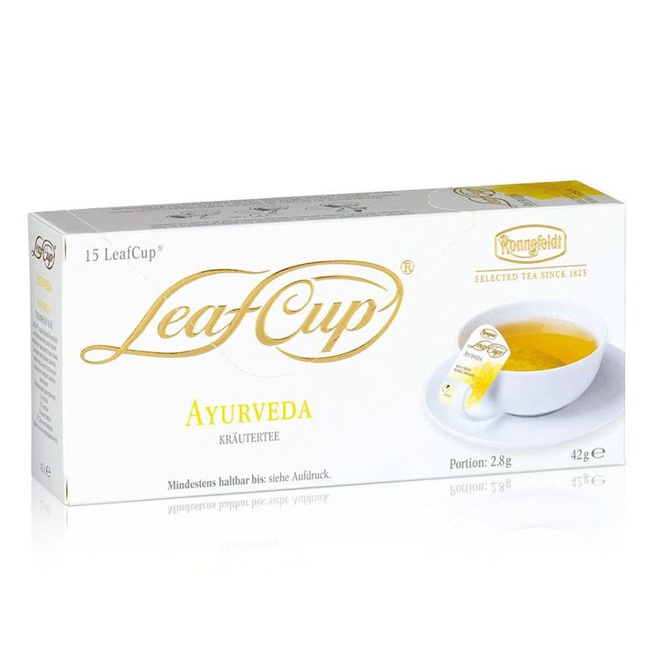 Ronnefeldt Ayurveda Herbal Infusion Tisane (LeafCup®)