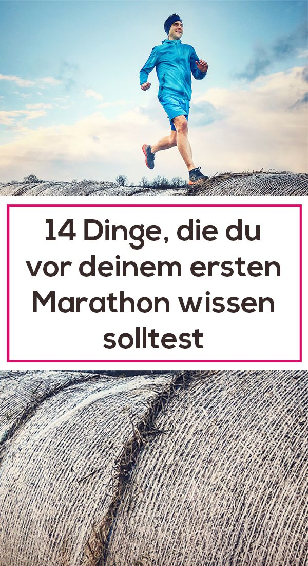 Beim ersten Marathon ist man oft noch unerfahren. Man stellt sich Fragen wie: Wie trainiere ich für den Marathon? Wie soll ich mich während des Trainings ernähren? Wie sieht eine gute Regeneration aus? Wie verpflege ich mich während des Wettkampfs? Und welche Stolpersteine kommen noch auf mich zu? Hier haben wir eine Liste mit 14 Dingen, die du auf jeden Fall vor deinem ersten Marathon wissen solltest.  #erstermarathon #marathonlaufen #joggen