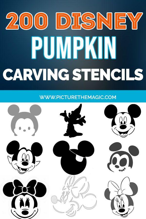 Minnie Mouse Halloween Pumpkin Stencils.Pin On Boo