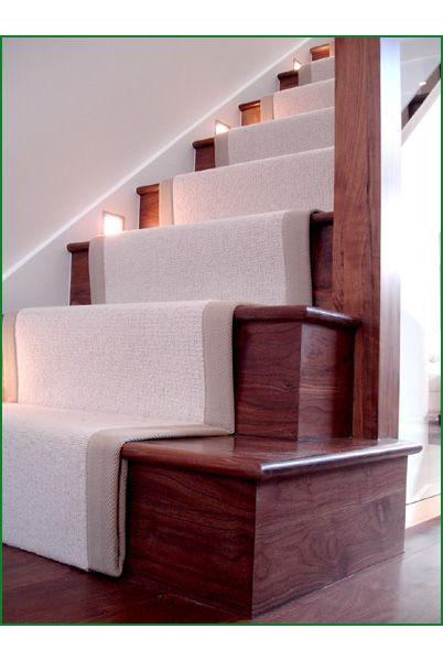 Walnut Glass Staircase