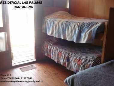 RESIDENCIAL LAS PALMAS (Hostal-Alojamiento)Mágica Vista al Mar KAJAK  SURF Cartagena  CHILE ATENDEMOS TODO EL AÑO--