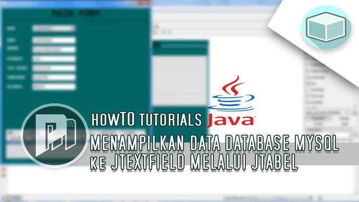 #10 Project Masunduh2 - Menampilkan Seluruh Data Database Mysql ke JTextField Ketika Klik atau Melalui JTable(Program Java Dengan Netbeans).