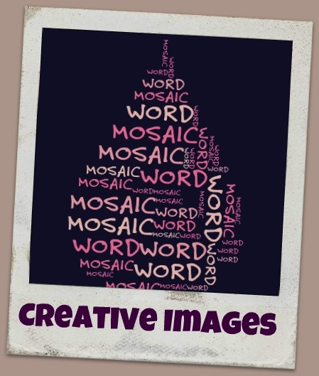 Creatives Images and Word Mosaic in PicMonkey  | www.SlenderSuzie.com
