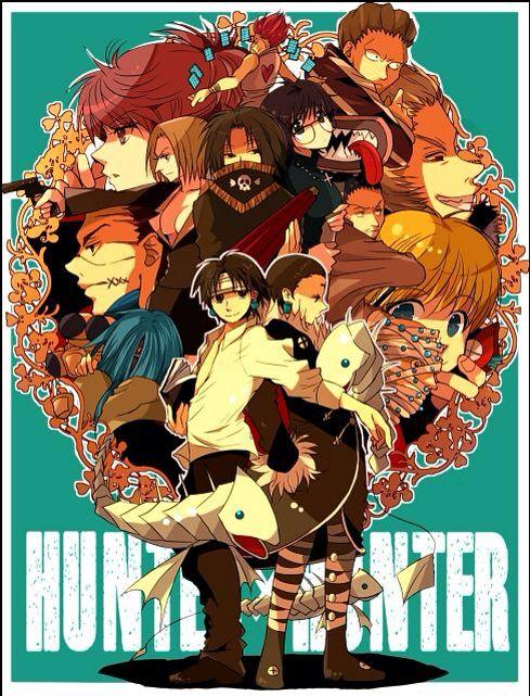 Hunter X Hunter Phantom Troupe Phantom Troupe ...