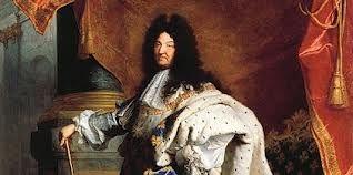 Lodewijk XIV (1638-1715) werd koning van Frankrijk op zijn vijfde doordat zijn vader stierf. Al sinds hij klein was werd hem ingepraat dat hij de belangrijkste persoon ter wereld was. Omdat hij nog maar vijf jaar was werd hij vooral opgevoed Mazarin. Vanaf hij groot genoeg was had hij heel Frankrijk in handen, hij hoefde nergens mee rekening te houden:  l'état? c'est moi! Doordat hij in naam van God werkte durfde niemand tegen hem in te gaan, want als je tegen hem ingaat ga je ook tegen god…