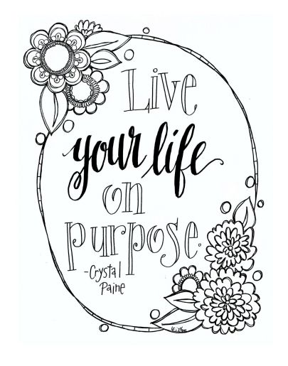 I'm SO excited about this!! Lisa over at CreativLei asked me if I had a quote she could turn into a printable quote/adult coloring page. And if you know me well, you know that I am ALL. OVER. THAT! Here's …