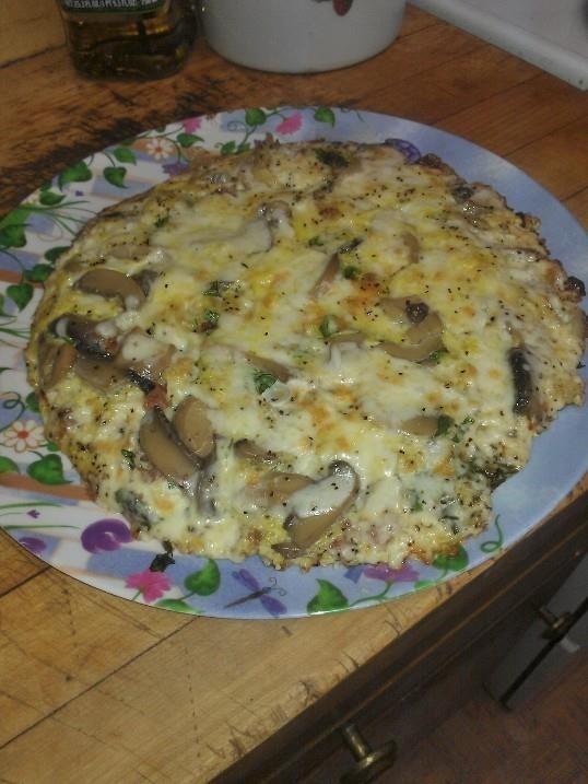 Fontina, pancetta, mushroom omelet | Omelets | Pinterest | Mushrooms ...