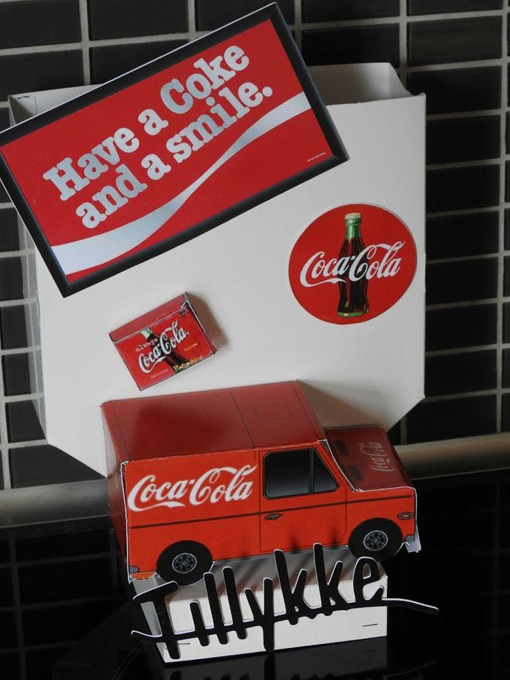 Sangskjuler til ham eller hende der er vild med Coca Cola