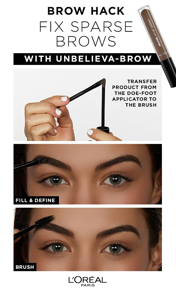 a7228a097891 L'Oréal Paris Unbelieva-brow is a waterproof, longwear brow gel to fill and  thicken brows that last- experience brows for days, enhanced up to 48 hours