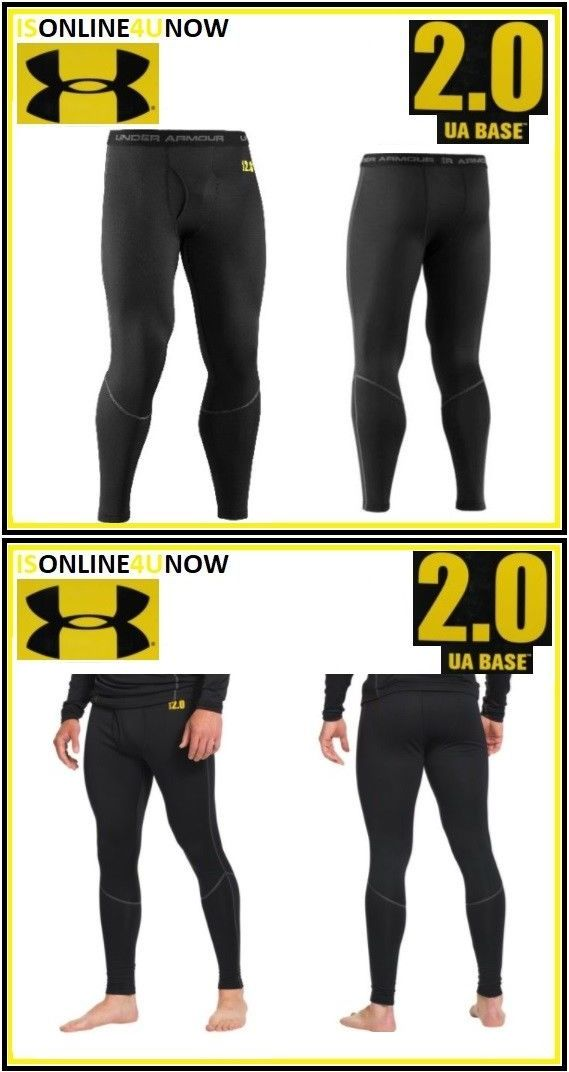 7a7c54d96a Base Layers 177867: Under Armour Base 2.0 Legging Black 1239726-001 Size  Medium -> BUY IT NOW ONLY: $25.99 on #eBay #layers #under #armour #legging  #black # ...