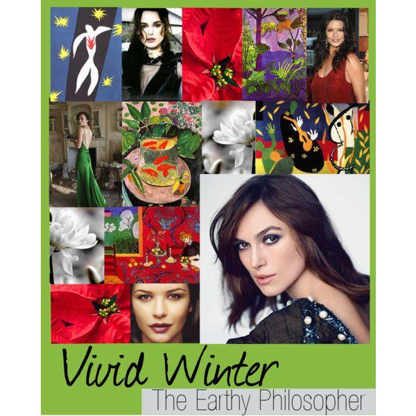 """""""Zyla Vivid Winter"""" by colorazione on Polyvore (combines Capricorn and Sagittarius)."""