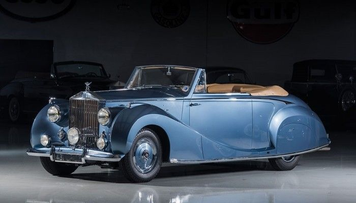 Rolls Royce Silver Wraith 4,3 litre Drophead Coupe LH SWB by Franey