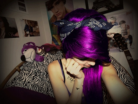 Pretty cool hair(: