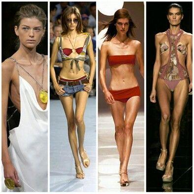 Vooral jonge meisjes kijken hard op naar modellen. Maar zijn deze wel altijd zo een goed voorbeeld? Ze hebben namelijk een ongezond gewicht. Ze zijn veel te mager en hebben ook niet altijd even gezonde eetgewoontes. Ze worden gedwongen om zo mager te zijn