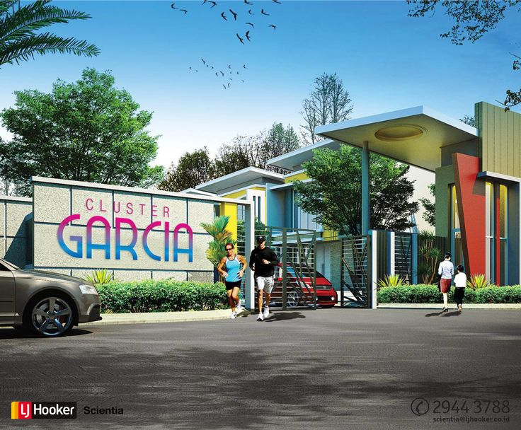 Cluster Garcia @ ModernLand, Tangerang