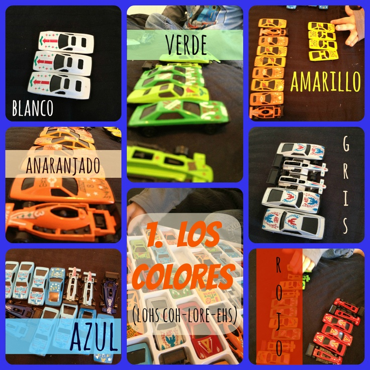 Cars For Kids >> Quick & Easy Spanish (Pre-K) // Learn Spanish through Play: Cars | Español