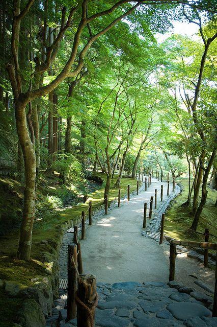 Late summer by tachimayu, via Flickr Ginkakuji, Kyoto