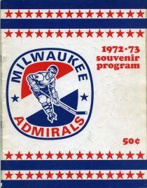 Milwaukee Admirals Game Program