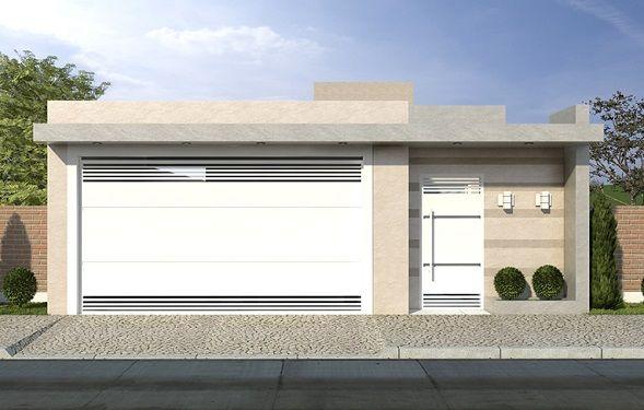 Cores para port o de garagem port o de garagem port es for Casa moderna 2019