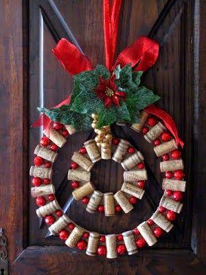 Φτιάξτε μόνοι σας χριστουγεννιάτικα στεφάνια για την είσοδο του σπιτιού   20 ιδέες {Μέρος 1ο}!