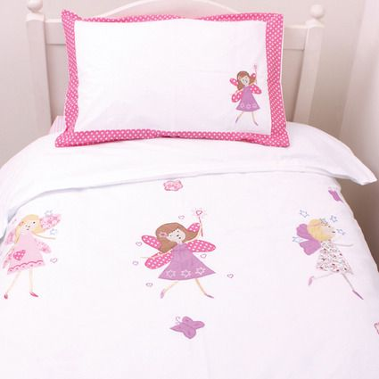 Babyface Fairy Girls Junior (Cot Bed) Duvet Cover Set