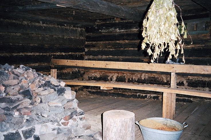 Another traditional savusauna (smoke sauna).