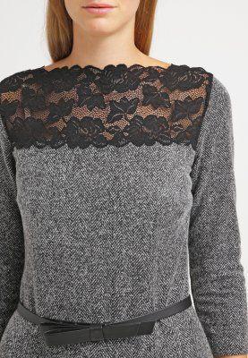 Bestill Escada EDOLA - Strikket kjole - grey-melange for kr 3355,00 (04.01.16) med gratis frakt på Zalando.no