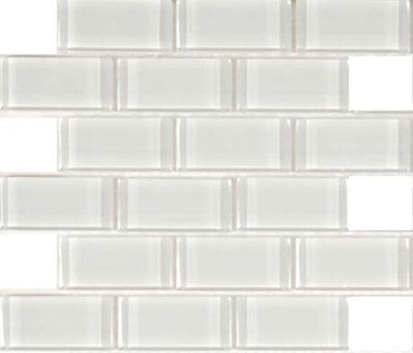 2x4 smaller white glass subway tiles for kitchen backsplash 13