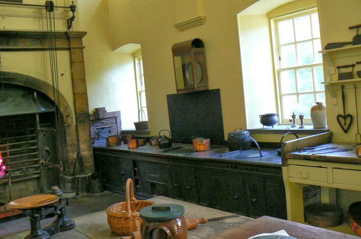 Kitchens Callendar House Scotland Interiors