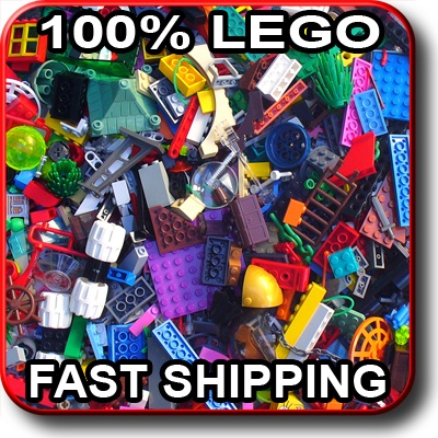 100+ LEGO PIECES!!