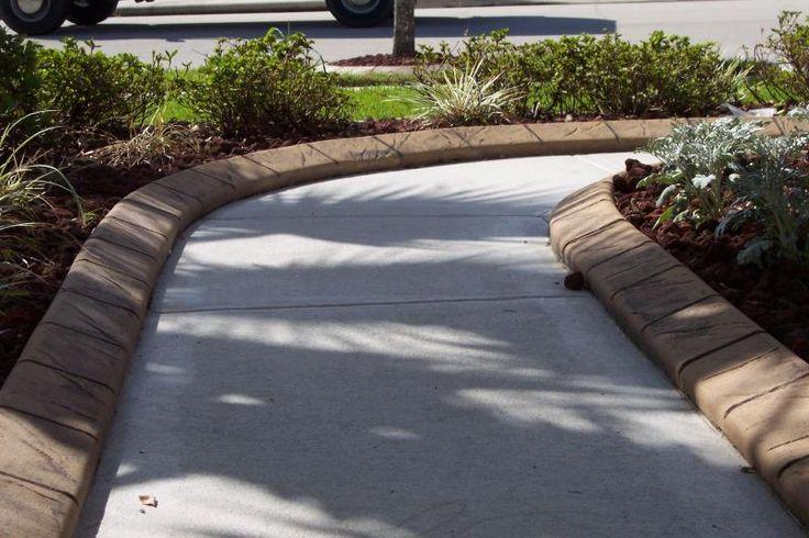 Pin By Scott Yager On Backyard Driveway Edging Sidewalk