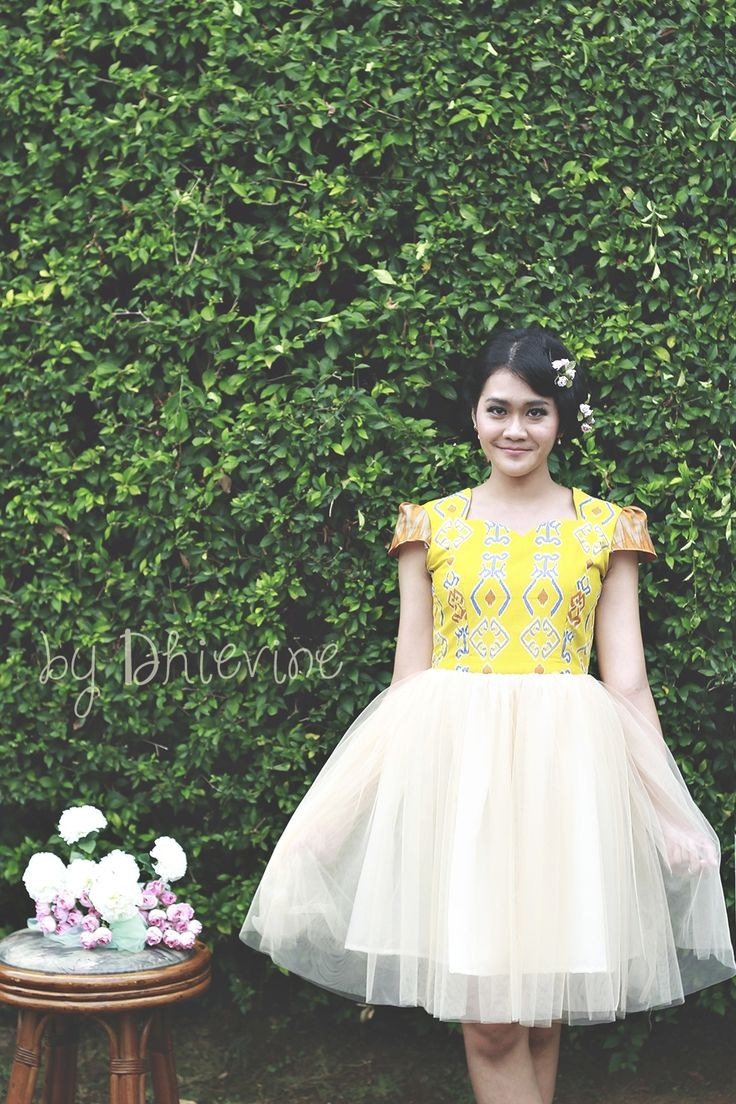 Batik Dress | tutu dress| Dewi Agni Dress | DhieVine | Redefine You