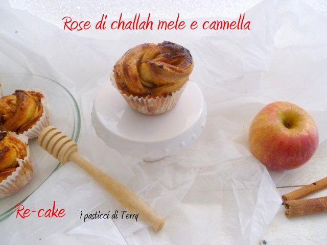 Ed ecco la Challah anche in versione dolce   http://www.ipasticciditerry.com/rose-di-challah-con-mele-e-cannella/