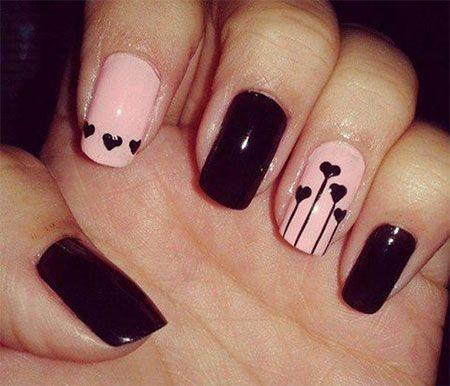 Se estiver com falta de ideias de decoração para a sua unha de filha única, nós ajudamos ;) #nailart #unhas #manicure #nails #filhaúnica