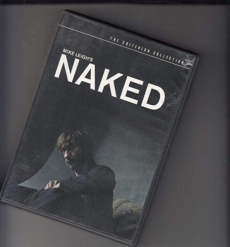 Naked 2 Disc DVD Set Criterion Collection Mike Leigh Booklet MINT