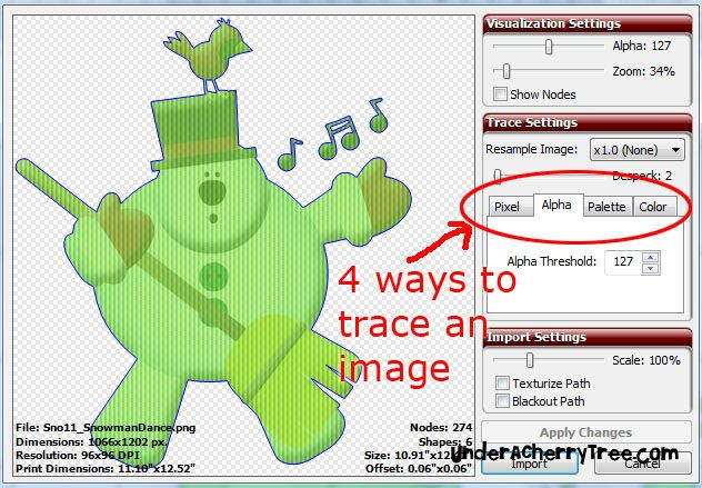 how to use make the cut software