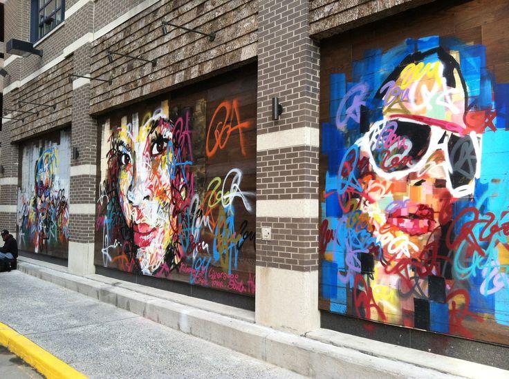 Graffiti art in Bethesda, Maryland--Kilmany-Jo Liversage