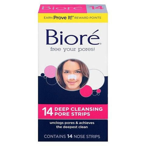 Few activities are more pleasurable in life than dampening your nose, applying a Boiré strip, peeling it off, and looking at the residue. Gross? A little, but I've been loyal to seeing what ends up in these guys since high school—and swear they keep my nose relatively blackhead-free. Bioré Deep Cleansing Pore Strips, $7