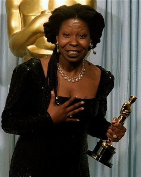 Whoopi Goldberg:  First black actress to receive two acting nominations overall; Second Black Actress to win Best Supporting Actress.